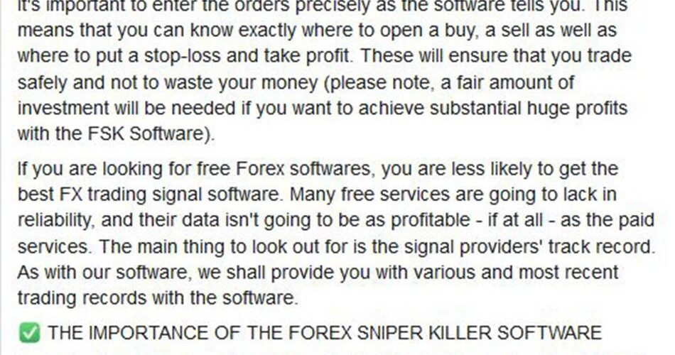 FOREX SNIPER KILLER Indicator – [Cost $350] – For FREE